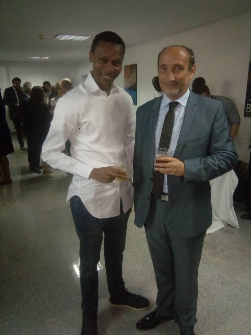 Embassy of Brazil Amphitheatre, Ambassador of Czech Republic to Nigeria