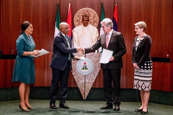Nigeria - Germany Increased Diplomatic Economic Relations