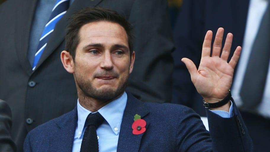 Frank Lampard managing Chelsea FC