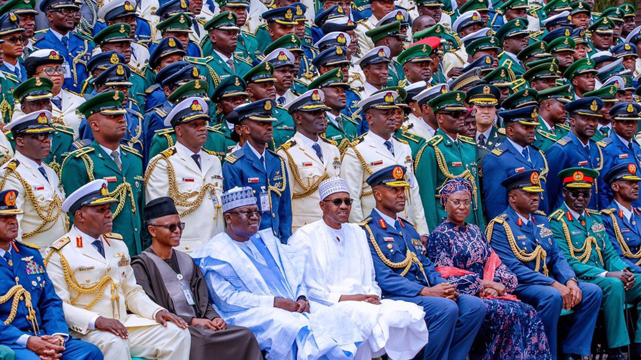 Nigeria war against terror senior course 41