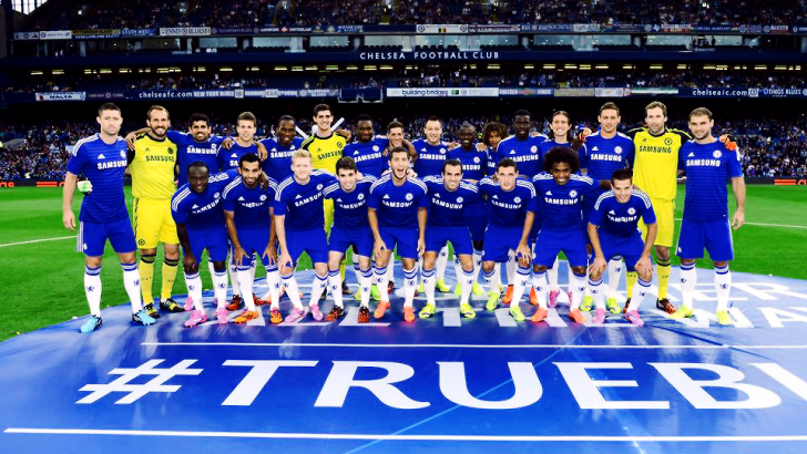 Chelsea Fc managed by Frank Lampard