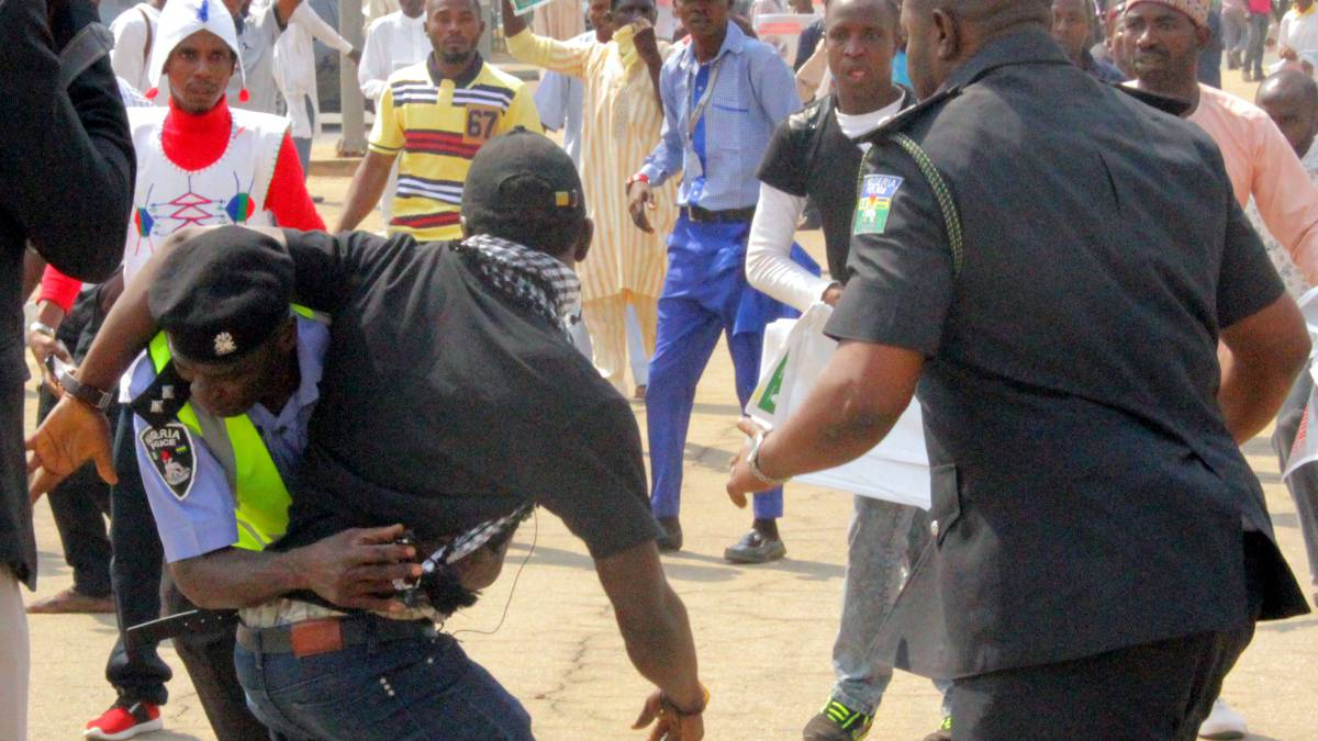 ABUJA PROTEST: Nigeria President Mourns Reporter, Deputy Commissioner Of Police