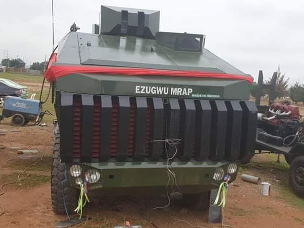 NIGERIAN ARMY TO LAUNCH INDIGENOUS MINE RESISTANT AMBUSH PROTECTED VEHICLE