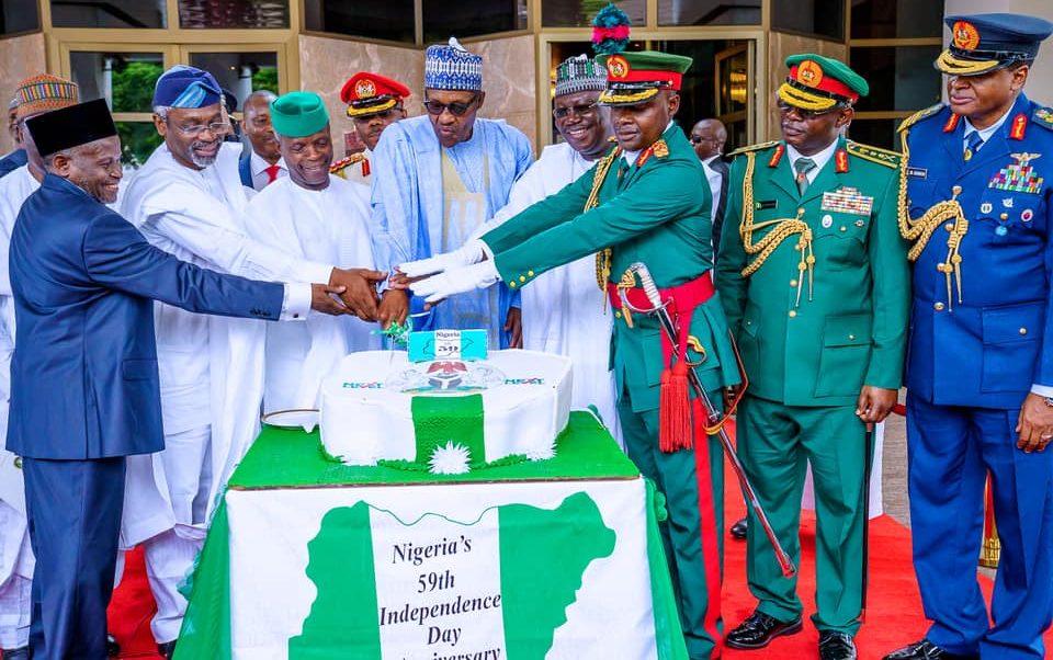 Nigeria not at war