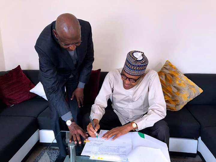 Amended Deep Offshore Act; Important for the Young Generation – President Buhari