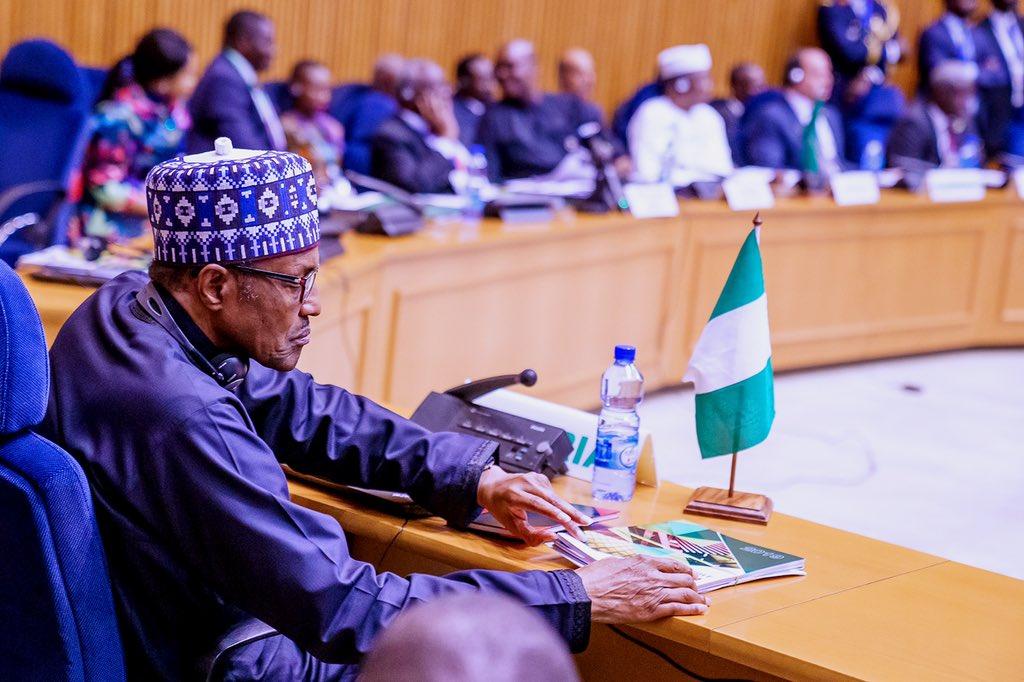 AU SUMMIT: President Buahri commends ECOWAS' renewed vigour against terrorism