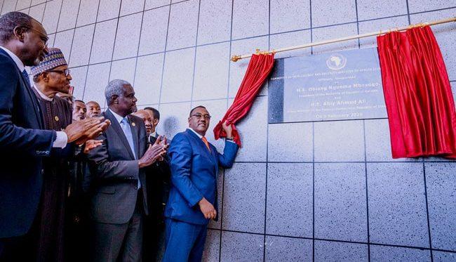 AU SUMMIT: African Leaders Inugurate CISSA Headquarters in Ethiopia