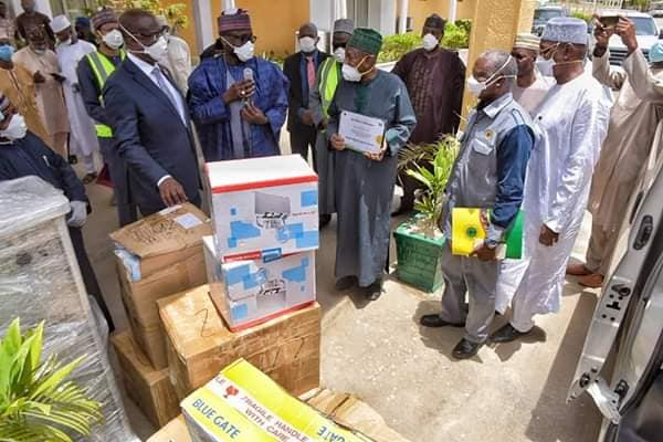 COVID-19 OIL & GAS INTERVENTION: Kano Receives Package