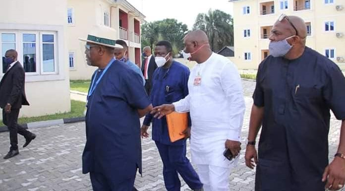 While we Fight COVID-19, We Must Provide Basic Infrastructure for the People – Gov. Wike Assures