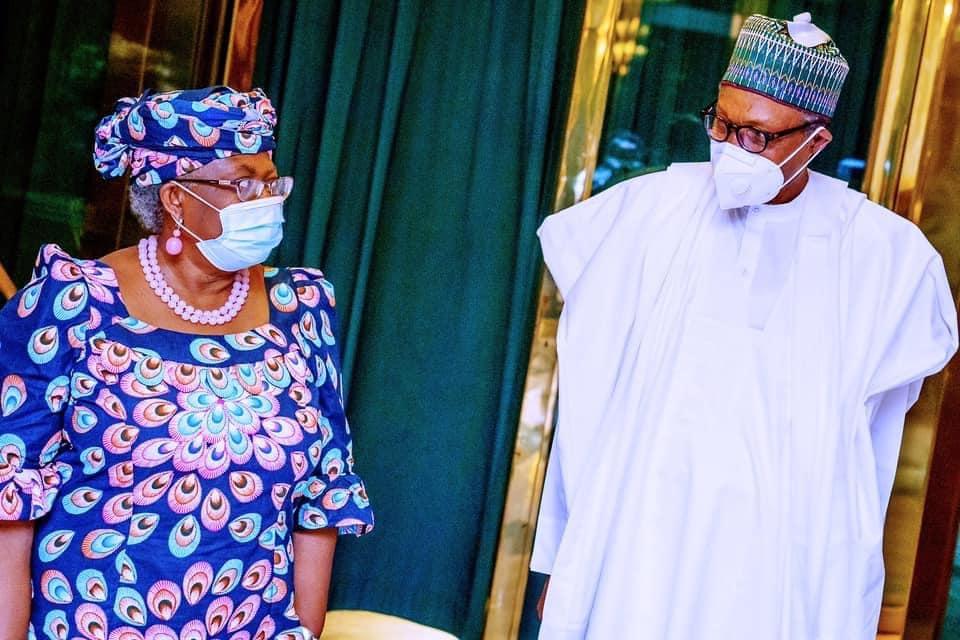 We'll Push, Push Until You Win; – President Buhari Assures Okonojo-Iweala