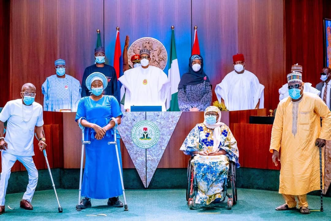 Your Work Is Critical In Lifting 100 Million Nigerians Out Of Poverty; - President Buhari Charges Commission For Disabilities