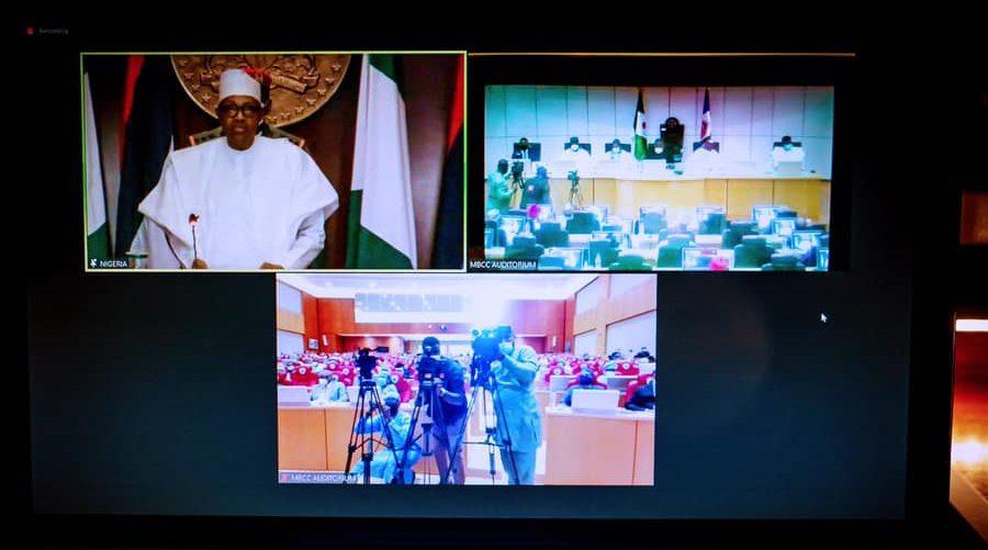 Project Nigeria's Image, Uphold Standards That Bring Honour;- President Buhari Tells Ambassadors