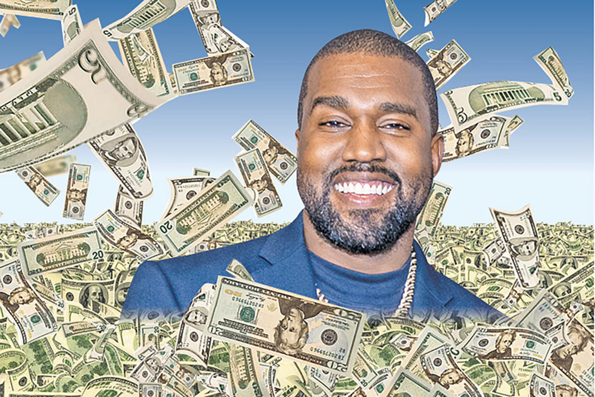 A Toast To Kanye West, Who Is Now $6.6 Billion Rich