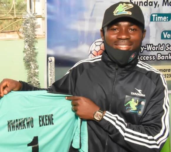 AMARAYA FC Signs Nwankwo Ekene